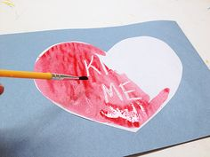 Secret Message Valentine @Amanda Snelson Snelson Snelson Formaro Crafts by Amanda