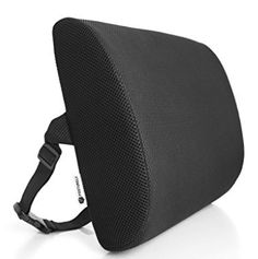 Posturely Any Seat Premium Memory Foam Lumbar Support Pillow for Car, Desk, Office Chair, Recliner for Lower Back Pain Relief Commercial Office Furniture, Lower Back Pain Relief, Look Good Feel Good, Support Pillows, Swivel Armchair, Pillow Reviews, Accessories Store, Living Room Chairs