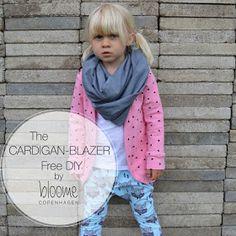 Bloome Copenhagen: Cardigan-Blazer DIY