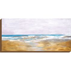 Invite coastal beauty into your home or office gallery with the KH Studio Shorebreak Canvas Wall Art . Its impressionist coastal scene from Artist Jardine. Hand Painted Canvas, Canvas Wall Art, Unique Words, Hand Painting Art, Beach Art, Canvas Fabric, Impressionist, Scene, Studio