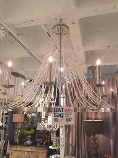 A #HATtag for this gorgeous new #chandelier by @aidangrayhome. #atlmkt