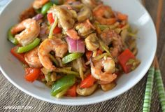 Fruity Prawn Stir Fry | Slimming Eats - Slimming World Recipes