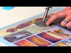 Photo Sleeve Fuse by We R Memory Keepers - YouTube video -- good for scrapbook pages or shaker windows on cards.  This will weld and cut any page protector to most any needed size and shape.