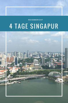 4 Tage waren wir in Singapur und sind verliebt in diese Stadt