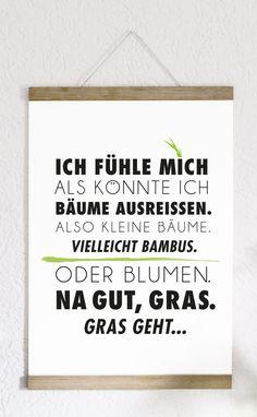 Gras geht...