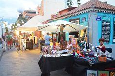 Craft market, Puerto de la Cruz, Tenerife