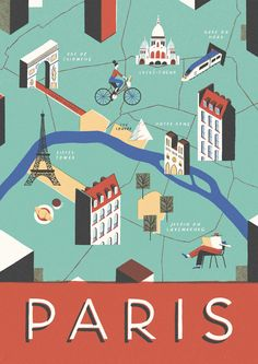 Paris | David Doran Illustration