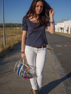 styleencolores Outfit  casual look  Verano 2012. Combinar Tacones-Plataformas Marrón suave H
