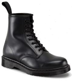 all black Doc Martens