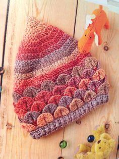 Anne-Michelle Phelan crocodile pixie hat | Simply Crochet Issue 26