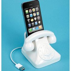 Jonathan Adler Phone Docking Station - Waiting On Martha - 2