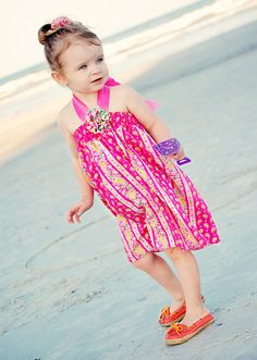 Pink   A Boutique Sun Dress for Babies and Little by pinkmouse, $24.00