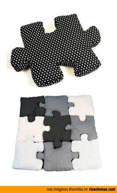 Cojines puzzle.