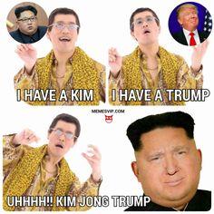 PPAP Kim Jong Trump meme