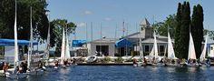 Lake Minnetonka Yacht Club, Lake Minnetonka, Minnesota, USA