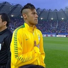 Ney during the match against Peru yesterday 14.06.2015 #Brazil 2-1 #Peru . . I am so proud of my Brazilian boys, once again they made me smile They won and Ney scored a head goal, and dani Alves was the one who made the amazing assist⚽️ #Neymarzete #Forever @neymarjr @danid2ois