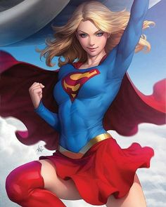 Buy Supergirl Flying Maxi Poster online and save! Supergirl Flying Maxi Poster Maxi Poster 61 × Our posters are rolled, wrapped and shipped in poster mailing tubes Héros Dc Comics, Heros Comics, Comics Anime, Comics Girls, Dc Heroes, Comic Book Characters, Comic Character, Comic Books Art, Comic Art