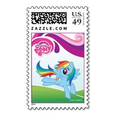 My Little Pony Twilight Sparkle Birthday Postage. This is customizable to put a personal touch on your mail. Add your photos or text to design your own stamp that can be sent through standard U. Just click the image to try it out! Rainbow Dash Birthday, Little Pony Birthday Party, 5th Birthday, My Little Pony Twilight, My Little Pony Princess, Custom Postage Stamps, Wedding Postage Stamps, Make Your Own Stamp, Wedding Invitation Sets