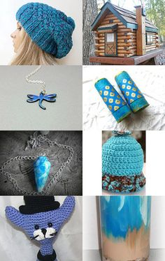 Feeling Blue by Samantha Vickerstaff on Etsy--Pinned with TreasuryPin.com #promotingwomen