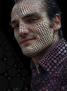 Auto-retrato, por Ben Heine