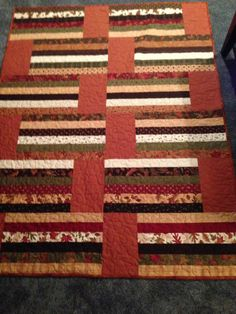 Jelly roll quilt