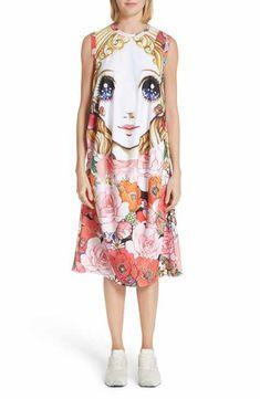 d0f931c49466d Comme des Garçons Manga Print Sleeveless Dress Nordstrom Dresses
