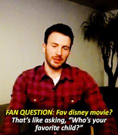 And this is why Chris is perfect