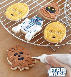 Star Wars cookies - und Star-Trek-Keksausstecher