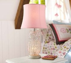 Crystal Owl Complete Lamp #PotteryBarnKids