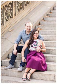 Romantic Fall Central Park New York City Engagement Shoot - Brett Denfeld Photography