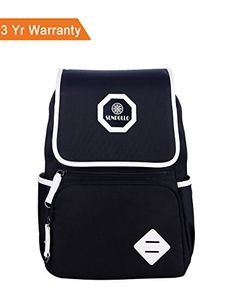 Casual School Backpack Book Bag for Boys Girls Students with Flap Laptop Sleeve ** You can get more details by clicking on the image.