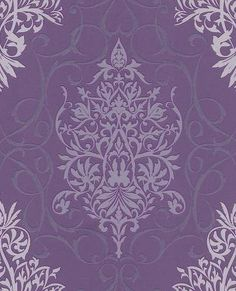barok behang vlies paars rasch 796179 Ornament, Colours, Living Room, Wallpaper, Image, Home Decor, Popular, Wallpapers, Decorating