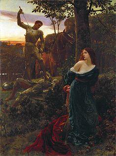 Chivalry (1885), Sir Frank Bernard Dicksee