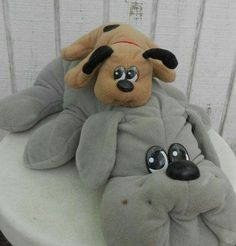 Pound puppies - I had one named Toto because I was obsessed with Wizard of OZ when I was little