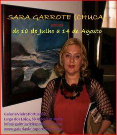 GALERIA VIEIRA PORTUENSE: ENVOLVÊNCIAS GALEGAS, pintura de Sara Garrotte (CH...