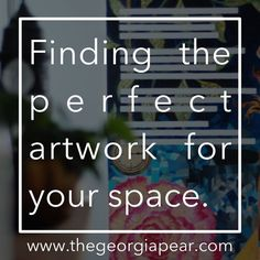Discover Original Artwork For Your Space:  Mass produced pieces of art from stores like Target, Homegoods, and Pier One certainly have their place, but whenever budgets allow, I am...