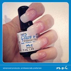 At NSI, #TGIF has a whole different meaning...  Thank Goodness It's For Nails! #TGIFNAILS  We are so thankful for Glaze 'N Go!   Glaze 'N Go provides a long-lasting, scratch-resistant high gloss shine that cures in 90 seconds with any 9-watt UV lamp. Use with any gel, acrylic or wrap!  Visit www.nsinails.com to place your order today!