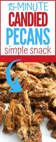 Selecting The Suitable Cheeses To Go Together With Your Oregon Wine Do You Have 15 Minutes Of Time? Assuming this is the case, You Can Make This Delicious Candied Pecans Recipe. Easy Snacks For Kids, Diy Snacks, Simple Snacks, Homemade Desserts, Easy Desserts, Dessert Recipes, Instant Pot, Candied Pecans Recipe, Pecan Recipes