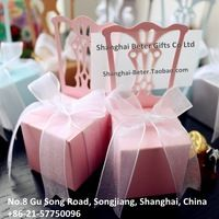 tiffany blue favor boxes with pink ribbon - Google Search