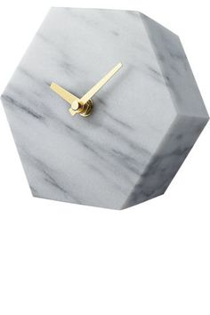 2016 Hostess Gift Guide: 20 chic gifts for the home that work from almost every person on your list this year: a marble clock