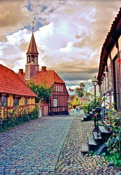 Ebeltoft, Denmark.