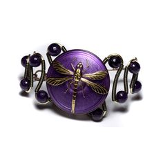 Steampunk Art Deco Bracelet  by Catherinette Rings Steampunk on Flickr.