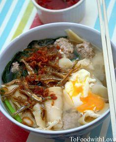 To Food with Love: Handmade noodles (Mee Hoon Kuay/Ban Mian)