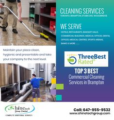 Shine Tech Group Ltd. is a professional #home or #office #cleaningservices #Toronto #Brampton #Woodbridge and #Etobbicoke that provides comprehensive #cleans so that you can enjoy life. Reach out to us today for a #cleaningestimate. Call us: 647-955-9532