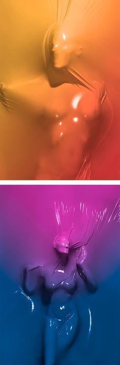 """Skindeep"" Photo Series by Julien Palast. Repinned from the last ""accent board"". I think this could be a very strong visual for poster"