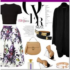 How To Wear Floral skirt for fall Outfit Idea 2017 - Fashion Trends Ready To Wear For Plus Size, Curvy Women Over 20, 30, 40, 50