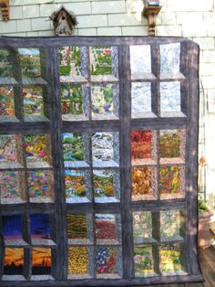 Attic Windows quilt pattern    at some point in my life i must try this