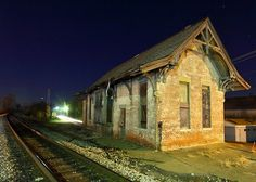 .Love this old train depot