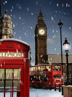 London at Christmas #RePin by AT Social Media Marketing - Pinterest Marketing Specialists ATSocialMedia.co.uk