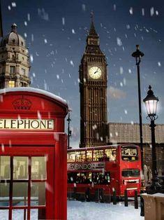 London at Christmas #RePin by AT Social Media Marketing - Pinterest Marketing Specialists ATSocialMedia.co.uk